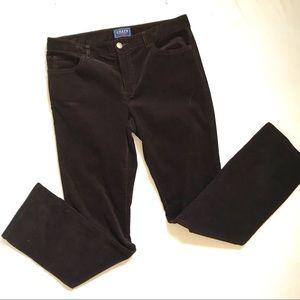 CHAPS Brown Corduroy Pants Size 10